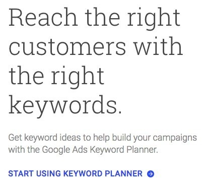 results of SEO activities with Google Keyword Planner