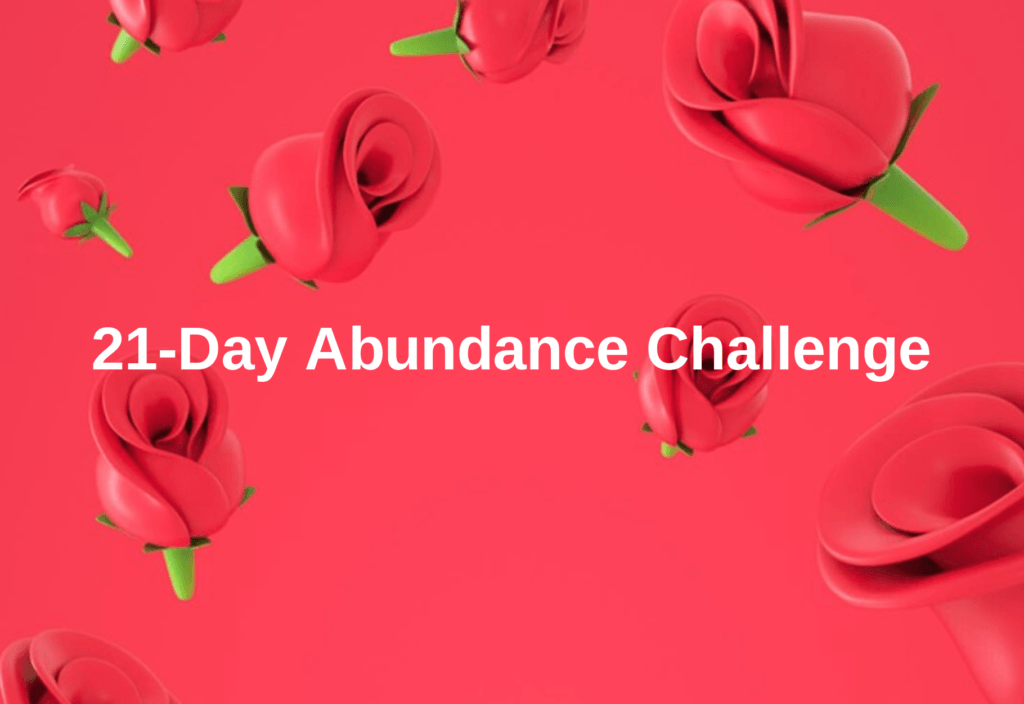 21 Days of Abundance Tasks on WhatsApp