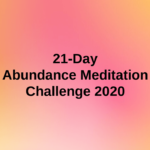 21 Days of Abundance Tasks
