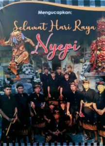 Nyepy - Bali Day of Silence 2020