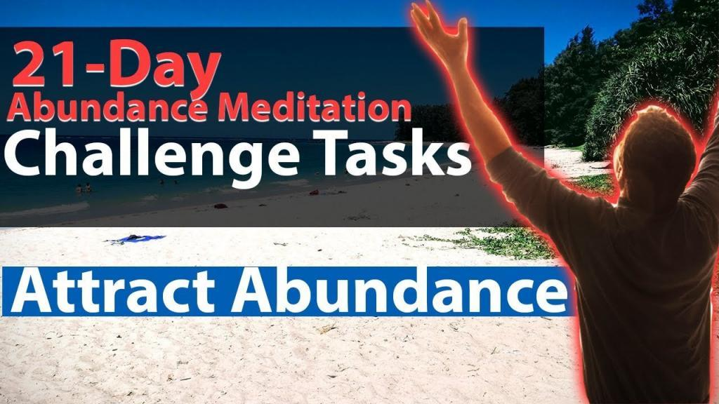 Abundance Challenge Day 3 - Task 3: Mind Matter And Spirit