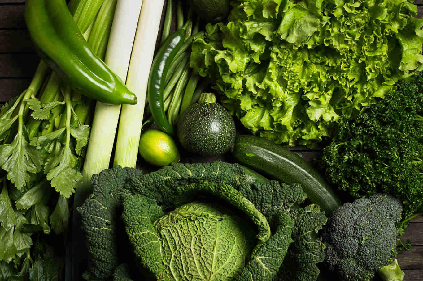Healthy Food Green Vegetables