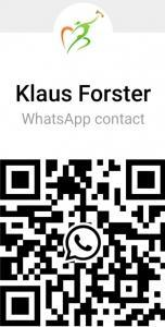Klaus Forster WhatsApp Contact